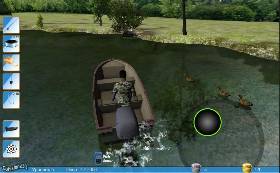 Скачать GoFishing 3D The Real Fishing на Андроид screen 2