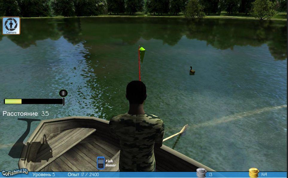 Скачать GoFishing 3D The Real Fishing на Андроид screen 1