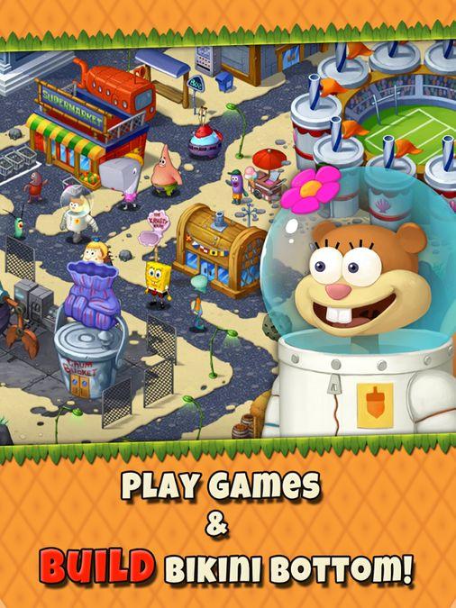 Скачать Губка Боб Game Station на Андроид screen 3