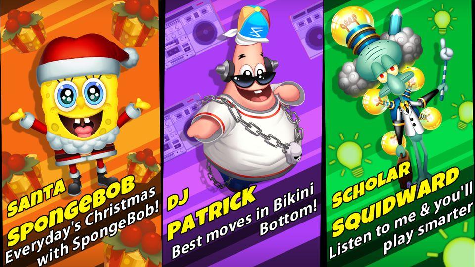 Скачать Губка Боб Game Station на Андроид screen 2