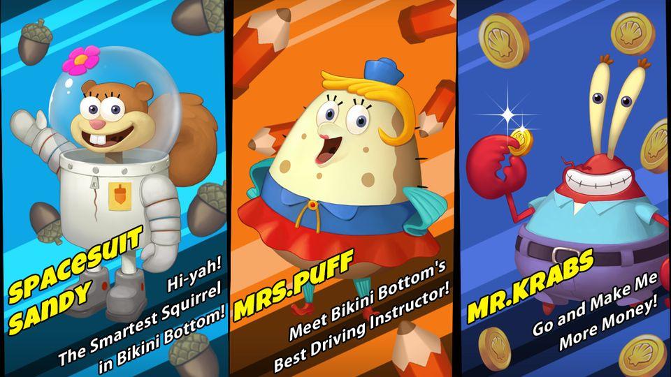 Скачать Губка Боб Game Station на Андроид screen 1