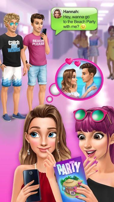 Скачать Летняя любовь Ханны — Школьные свидания на Андроид screen 3