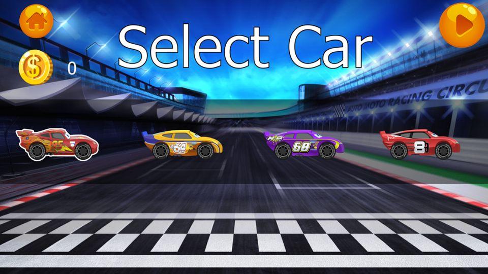 Скачать Lightning Car Race McQueen на Андроид screen 2