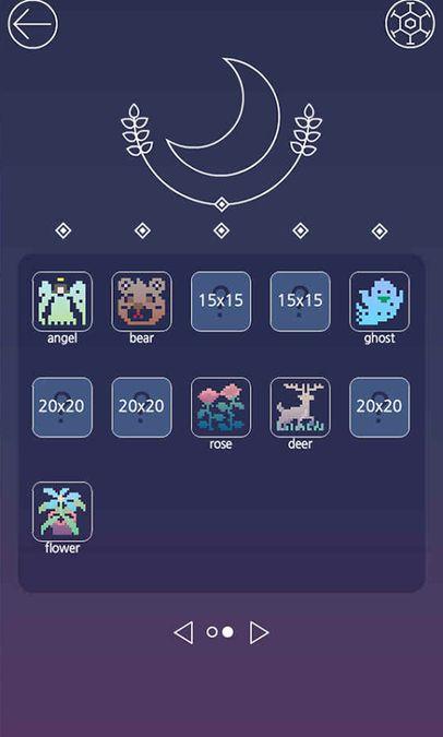 Скачать Picross Luna — A forgotten tale на Андроид screen 3