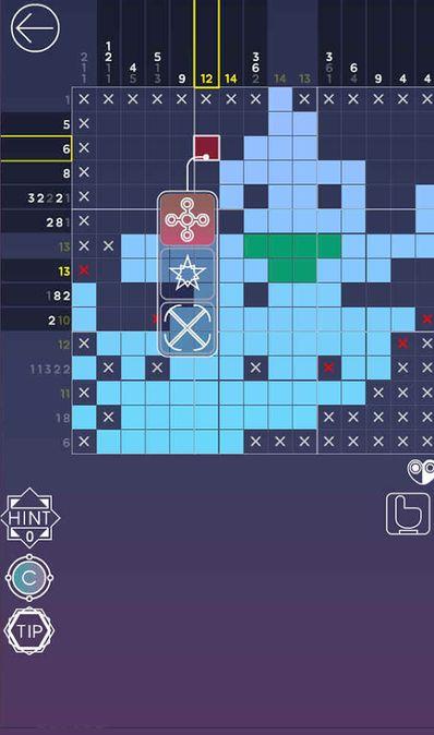 Скачать Picross Luna — A forgotten tale на Андроид screen 1