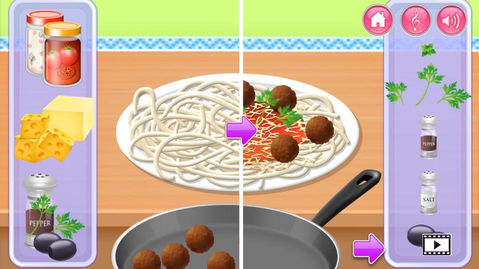 Скачать Приготовления пищи на кухне на Андроид screen 4