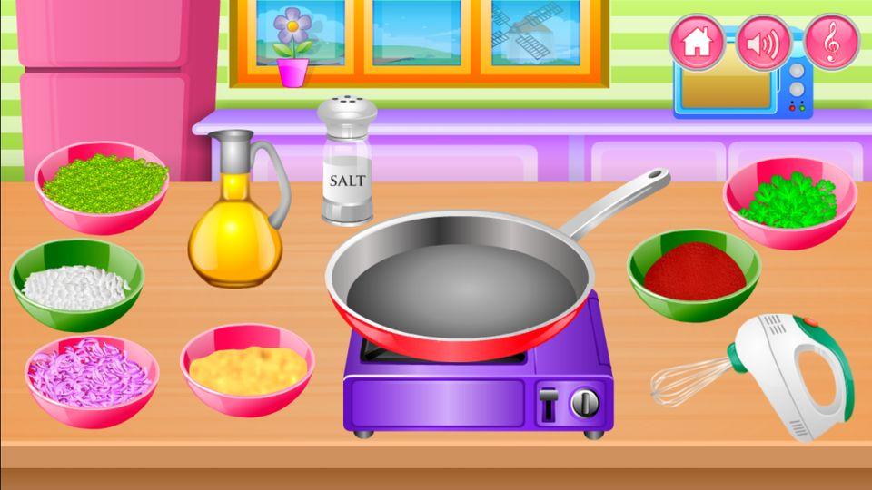 Скачать Приготовления пищи на кухне на Андроид screen 2