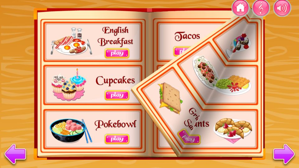 Скачать Приготовления пищи на кухне на Андроид screen 1