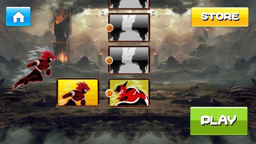 Скачать Сайянская битва Гоку на Андроид screen 4