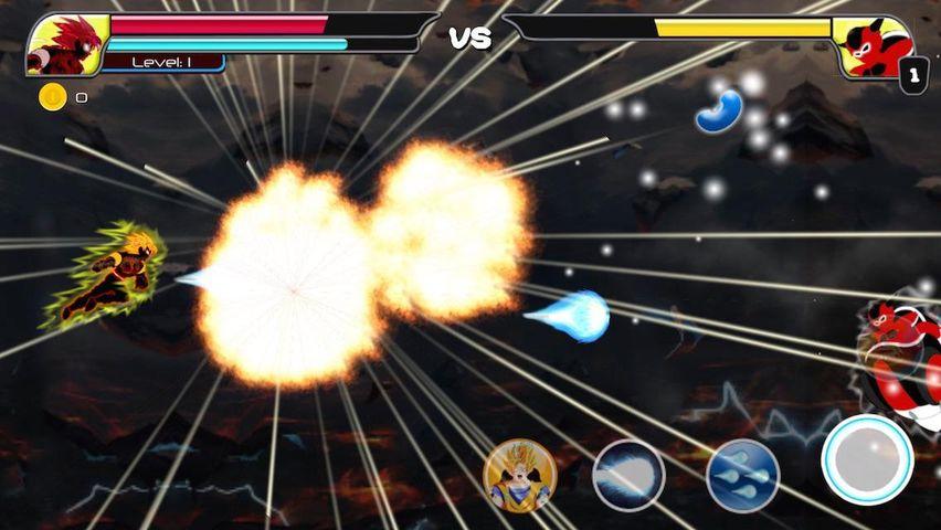 Скачать Сайянская битва Гоку на Андроид screen 2