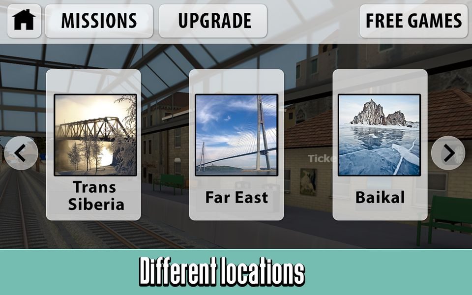 Скачать Симулятор Русского Поезда 3D на Андроид screen 1