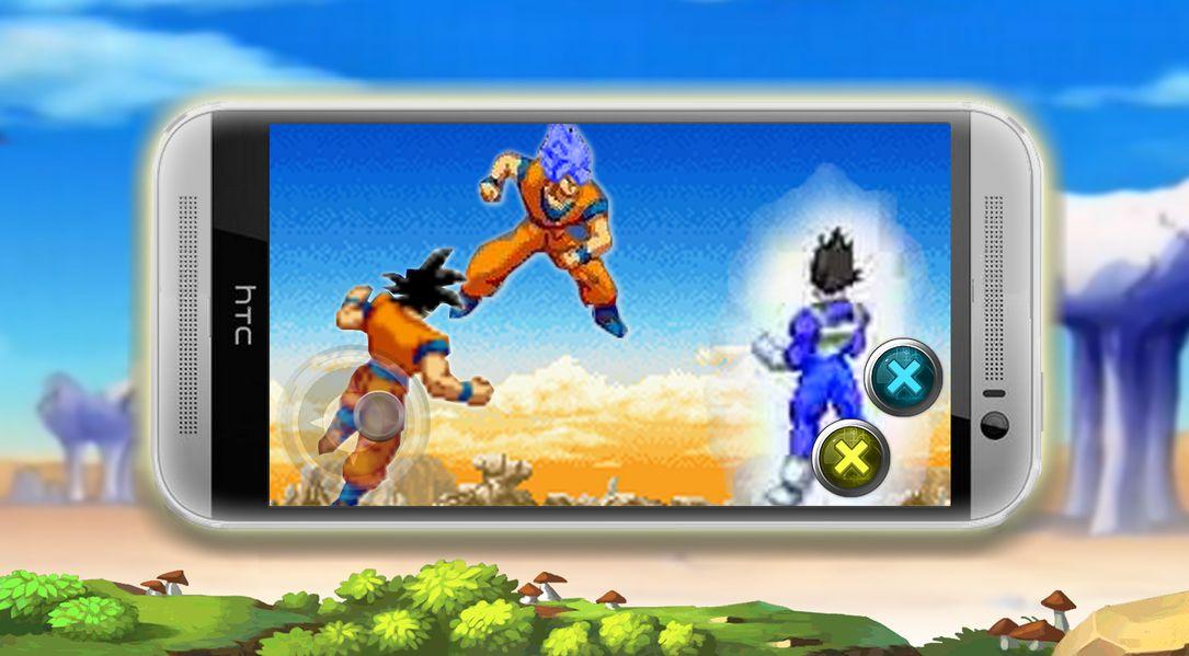 Скачать Super Saiyan Warrior на Андроид screen 3