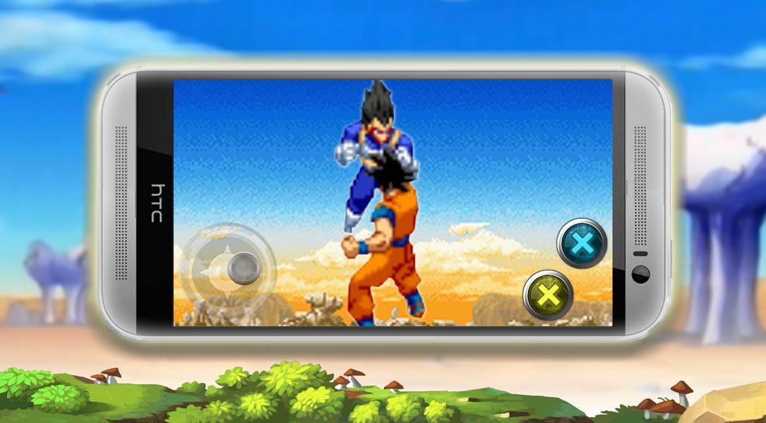 Скачать Super Saiyan Warrior на Андроид screen 2