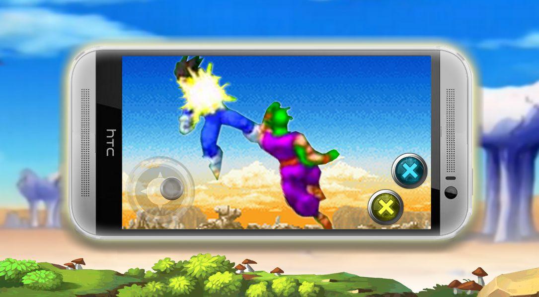 Скачать Super Saiyan Warrior на Андроид screen 1