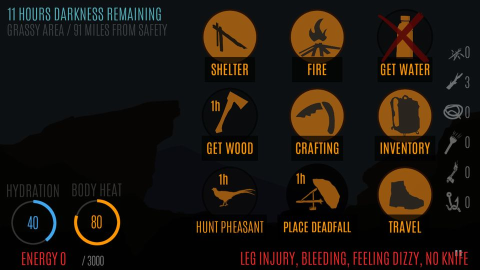 Скачать Survive — Wilderness survival на Андроид — Полная версия screen 4