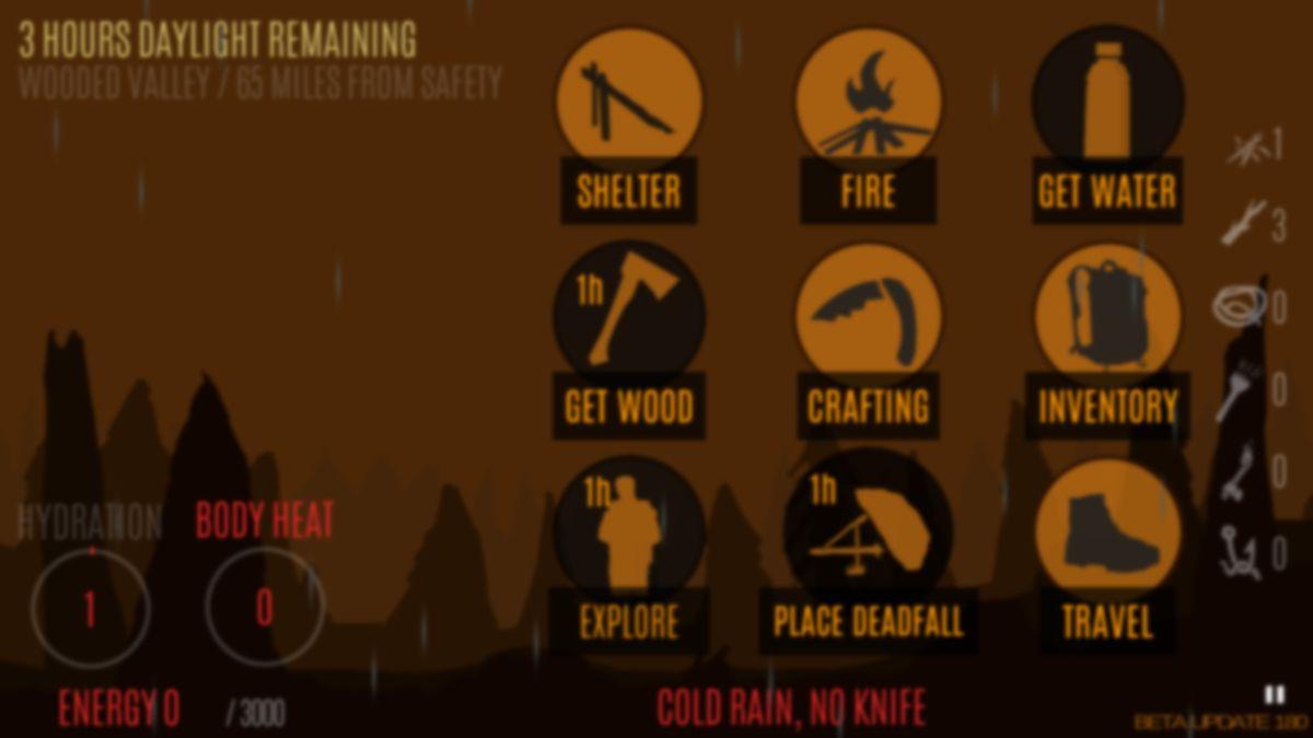 Скачать Survive — Wilderness survival на Андроид — Полная версия screen 1