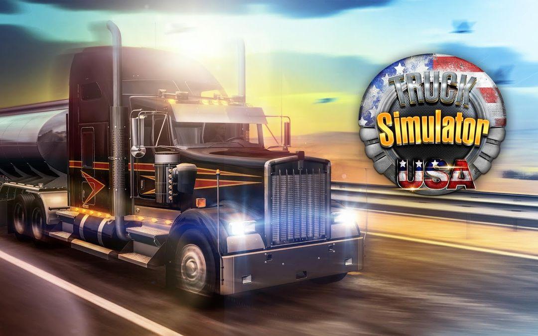 Скачать Truck Simulator USA на Андроид — Мод много денег screen 3