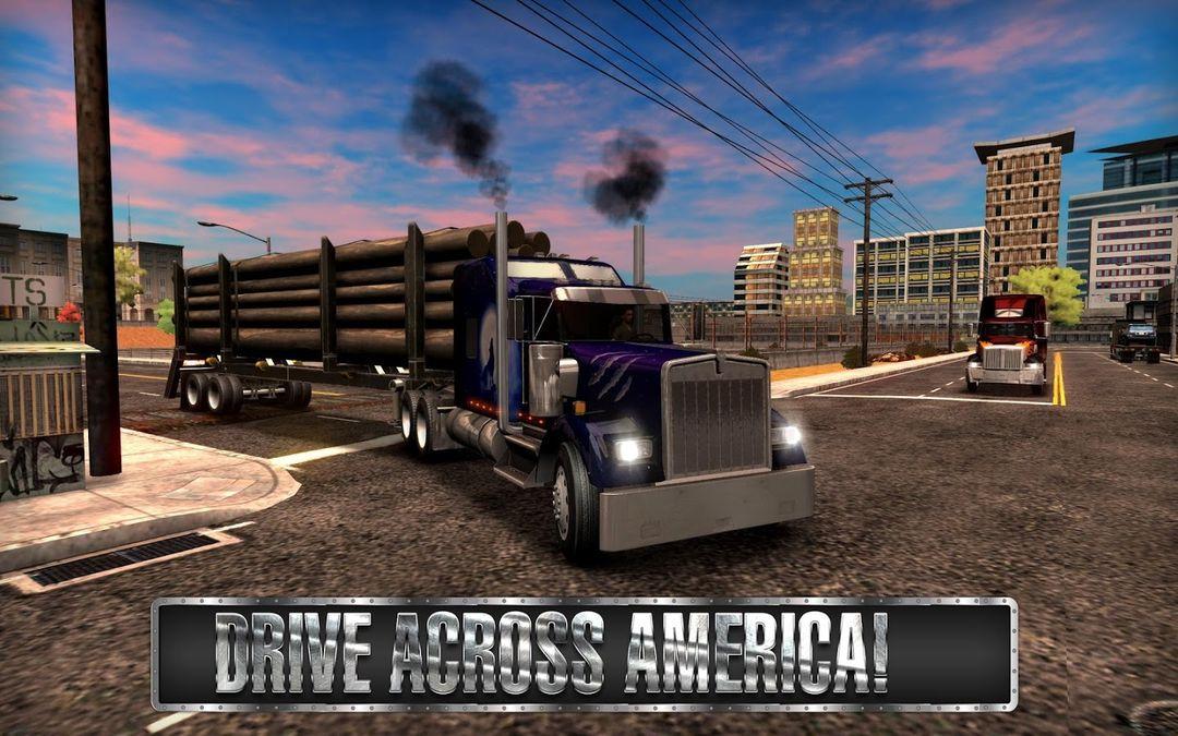 Скачать Truck Simulator USA на Андроид — Мод много денег screen 2