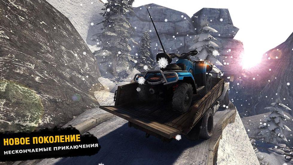Скачать Водитель грузовика 3D: Offroad на Андроид — Мод открыто все screen 1
