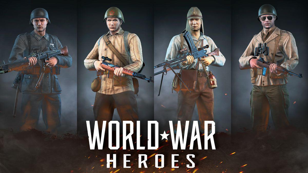 Скачать World War Heroes: Шутер Второй Мировой Войны на Андроид screen 3