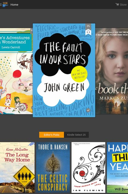 Скачать Amazon Kindle на Андрод screen 1