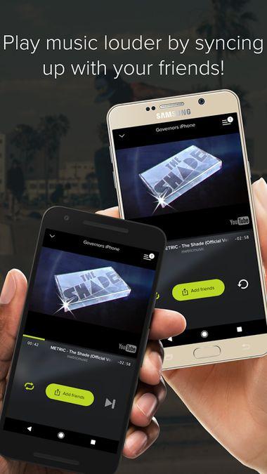 Скачать AmpMe на Андроид — Полная версия screen 1