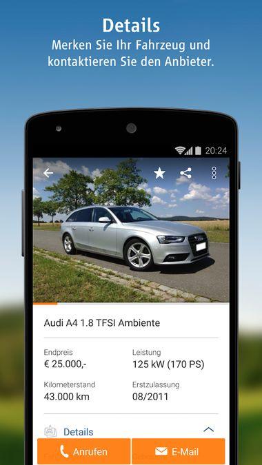 Скачать AutoScout24 на Андроид screen 2