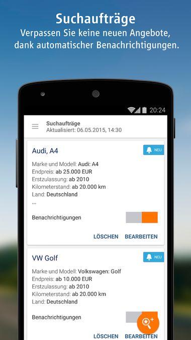 Скачать AutoScout24 на Андроид screen 4