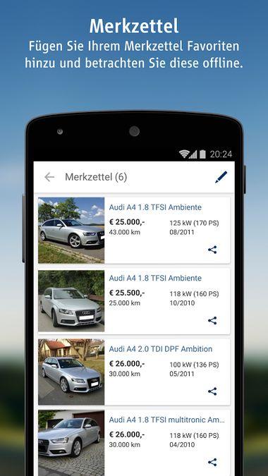 Скачать AutoScout24 на Андроид screen 5