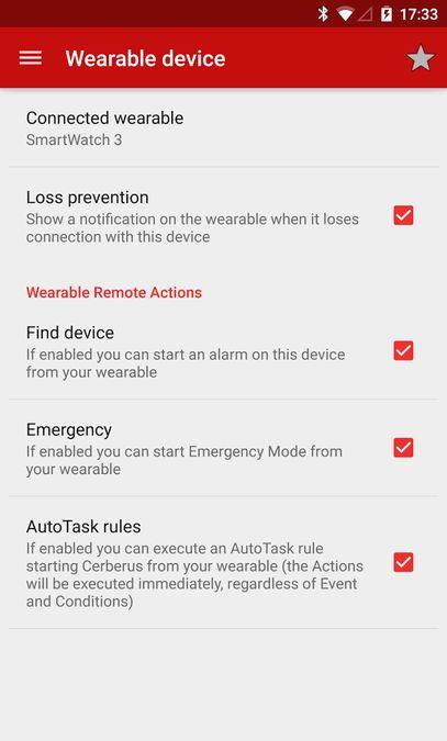 Скачать Cerberus на Андроид screen 5
