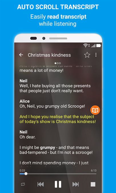 Скачать English Listening на Андроид screen 2