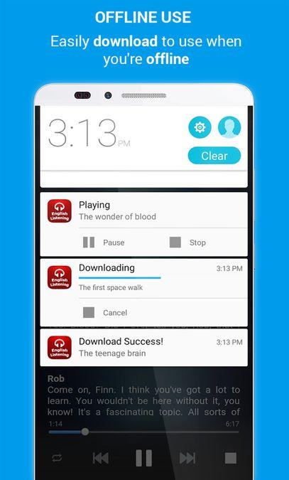 Скачать English Listening на Андроид screen 5