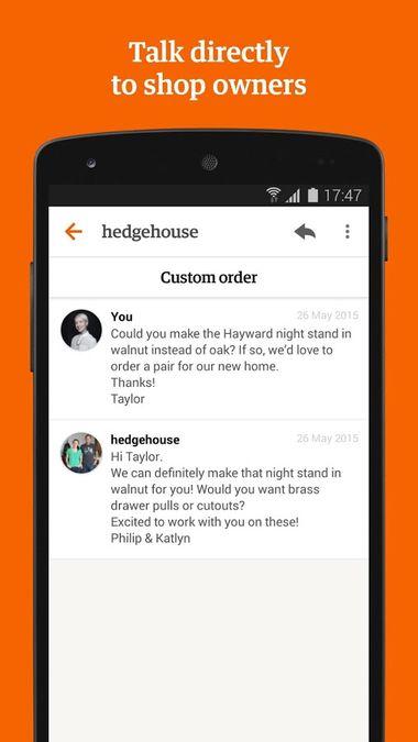 Скачать Etsy на Андроид screen 4