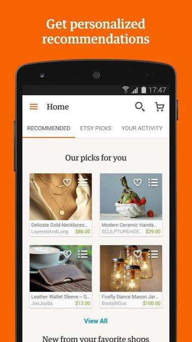 Скачать Etsy на Андроид screen 5