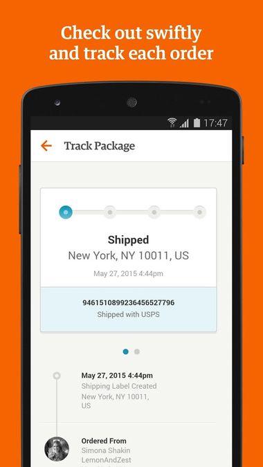 Скачать Etsy на Андроид screen 6