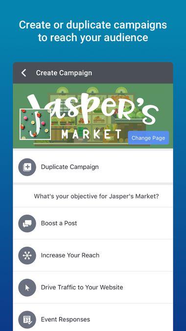 Скачать Facebook Ads Manager на Андроид screen 2