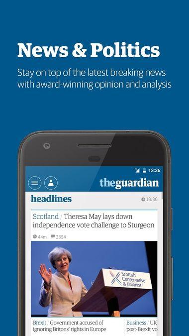 Скачать The Guardian на Андроид — Полная версия screen 1