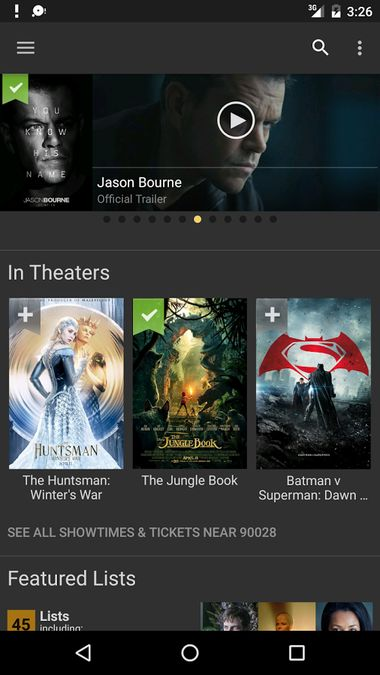 Скачать Internet Movie Database на Андроид screen 1