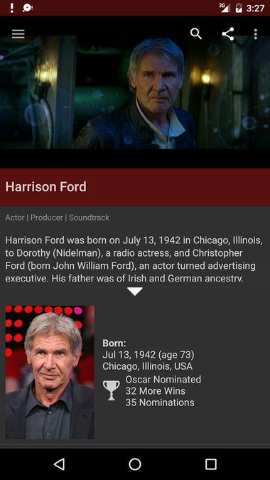 Скачать Internet Movie Database на Андроид screen 2