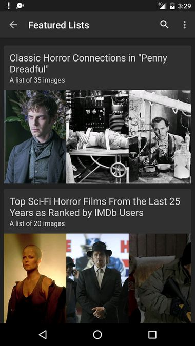 Скачать Internet Movie Database на Андроид screen 5
