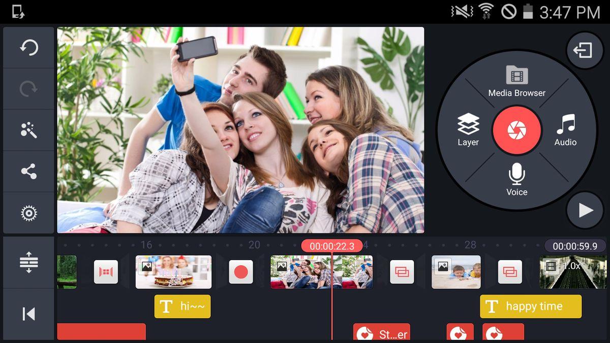 Скачать KineMaster Video Editor на Андроид — Полная версия screen 1