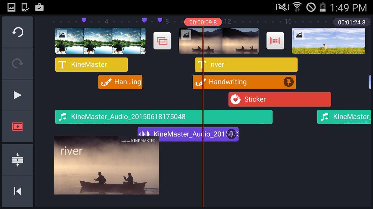 Скачать KineMaster Video Editor на Андроид — Полная версия screen 2