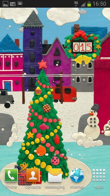 Скачать KM Рождественские Виджеты на Андроид screen 2