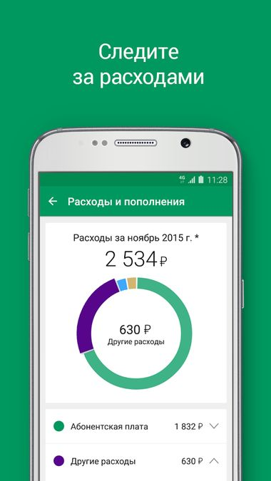 Скачать МегаФон на Андроид screen 2