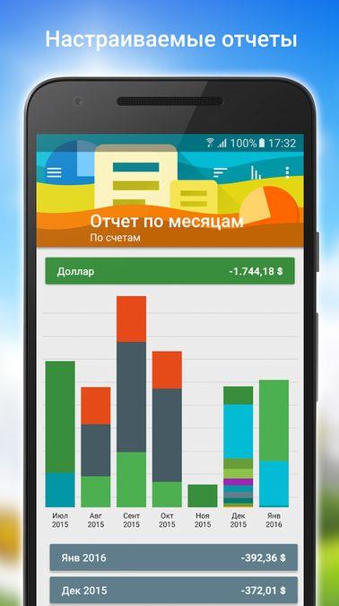 Скачать Монитор финансов на Андроид screen 5