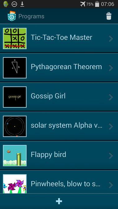 Скачать Pocket Code на Андроид screen 3