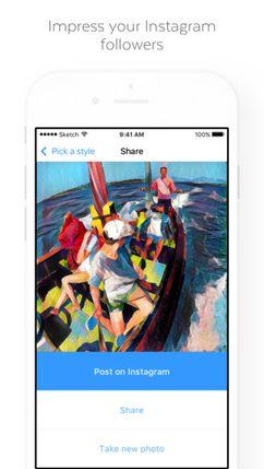 Скачать Prisma на Андроид — Оптимизированная версия screen 4