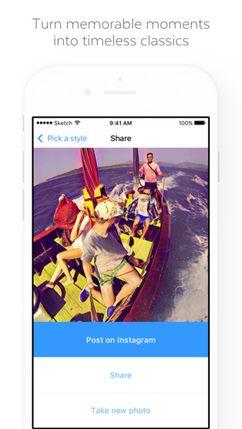 Скачать Prisma на Андроид — Оптимизированная версия screen 5