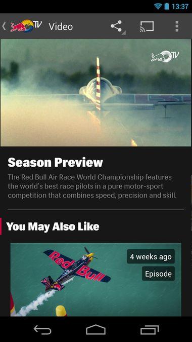 Скачать Red Bull TV на Андроид screen 3