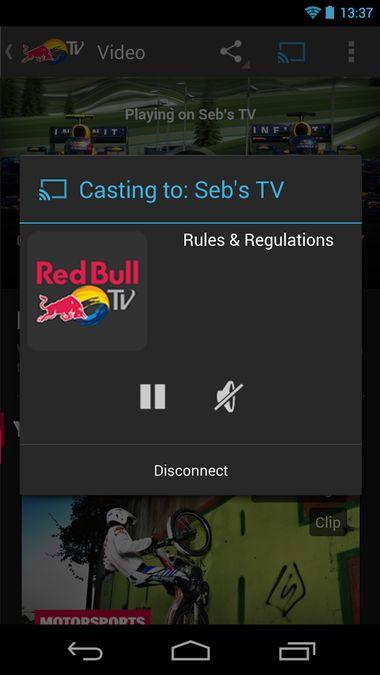 Скачать Red Bull TV на Андроид screen 5